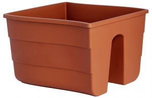 Donica balustradowa Fala 30 cm terracotta (colour 010)