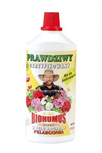 Nawóz BIO Biohumus Extra do pelargonii 1000 ml
