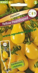 Pomidor koktajlowy Yellow Pearshaped